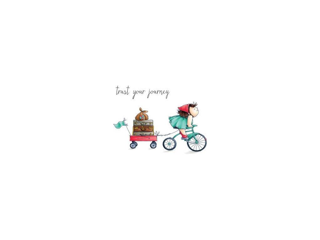 stamping bella cling stamp squidgy on a journey eb490