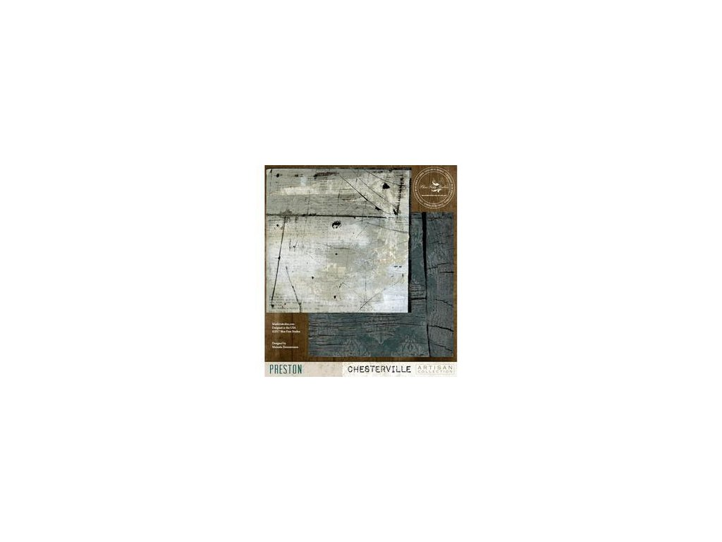 """Blue Fern Studios - PRESTON - 12"""" scrapbooková čtvrtka"""