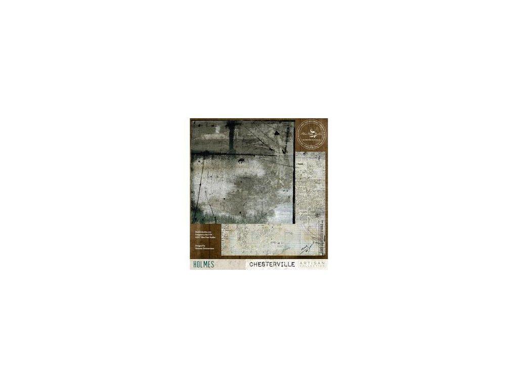 """Blue Fern Studios - HOLMES - 12"""" scrapbooková čtvrtka"""