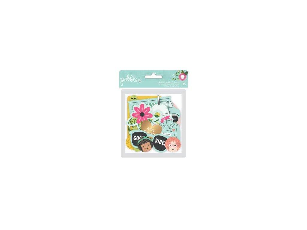 Pebbles - GIRL SQUAD - papírové kartičky