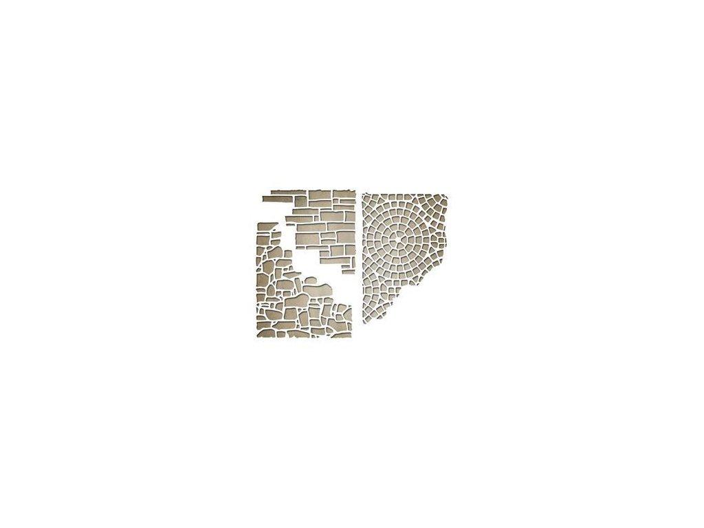 Sizzix / Framelits - MIXED MEDIA 4 - vyřezávací šablony