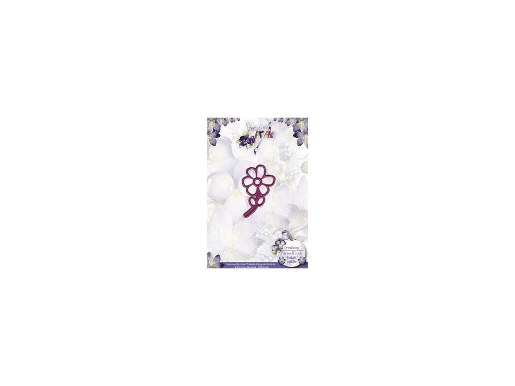 Precious Marieke - Flower - vyřezávací šablona pro Big Shot