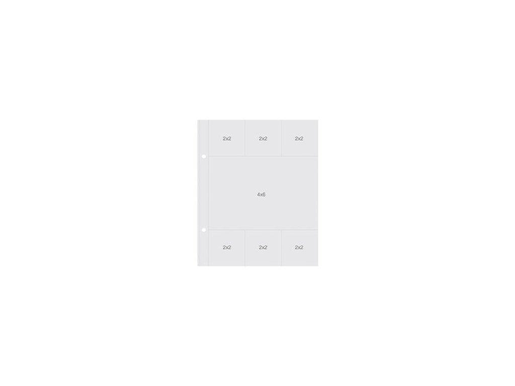 "Simple Stories - INSTA POCKET  / REFILL - 6x8"" - náhradní obaly"