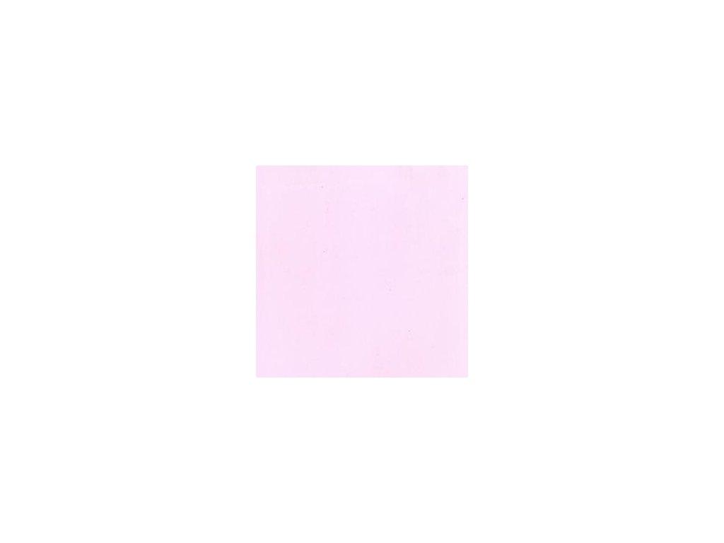 Foamiran / světle růžová - tenká pěnová guma 30 x 35 cm
