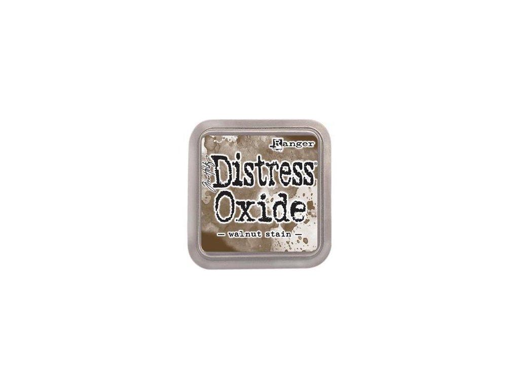 Distress Ink / OXIDE - WALNUT STAIN - razítkovací barva