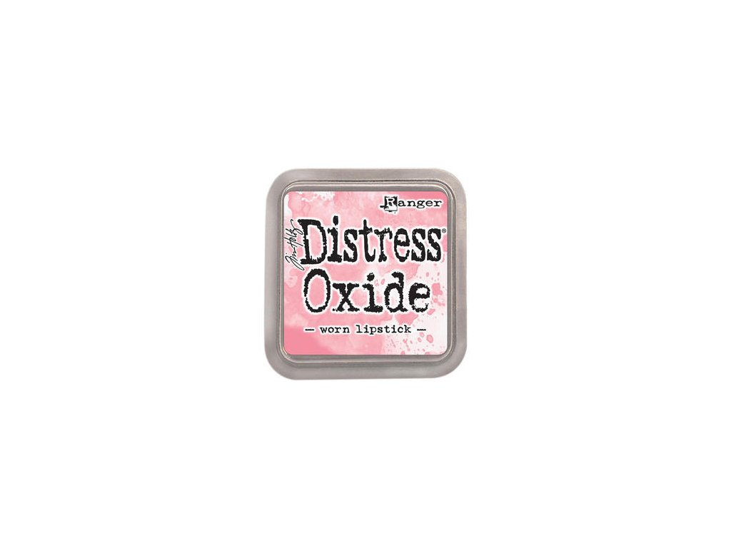 th distress oxide worn lipstick