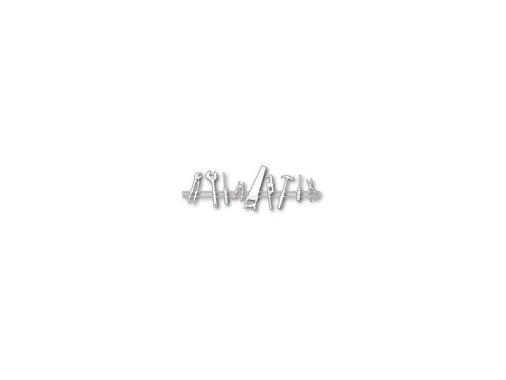 Memory Box - 99699 / WORKSHOP BORDER - vyřezávací kovové šablony