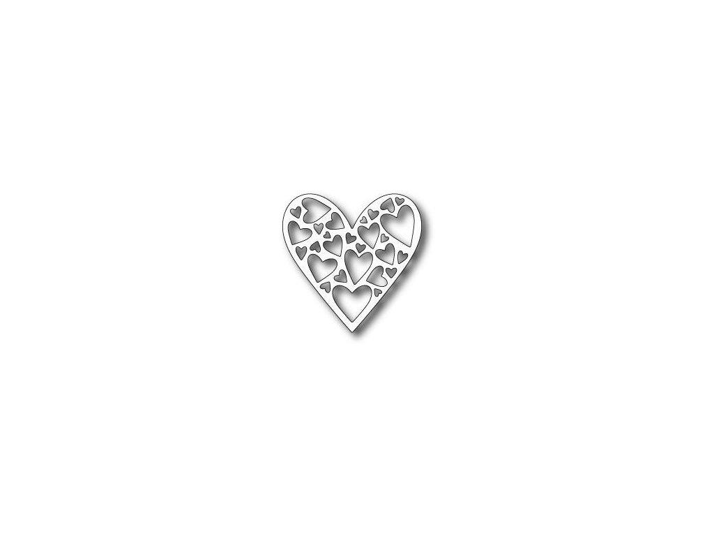 Memory Box - 99352 / TENDER HEART - vyřezávací kovové šablony
