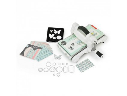 Sizzix - Big Shot Machine STARTER KIT / bílo-šedý