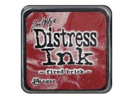 Distress Ink - FIRED BRICK / mini - razítkovací barva