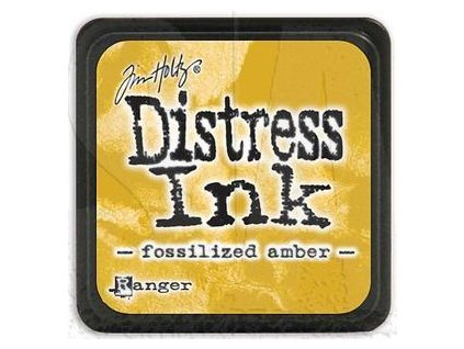 tim holtz distress mini ink pad fossilized amber tdp46783(1)