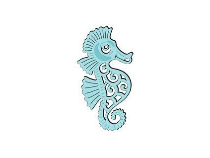 sweet dixie cutting die stylish seahorse sdd117 4540 p