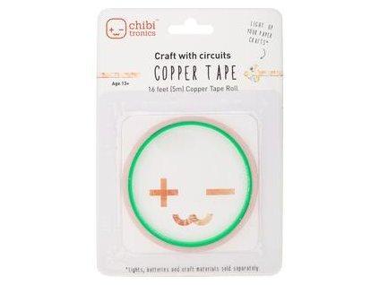 Chibi Tronics - COPPER TAPE - měděná páska pro světýlka do přáníček, 30 ks