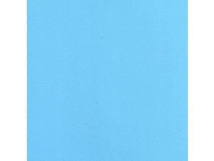 Foamiran / světle modrá - tenká pěnová guma 30 x 35 cm