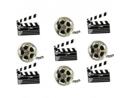 Eyelet Outlet - MOVIE - brads, 12 ks