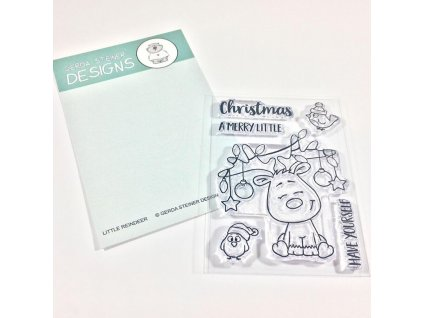 Gerda Steiner Designs Clear Stamps Little Reindeer GSD612 image1 33738.1507063650.1280.1280