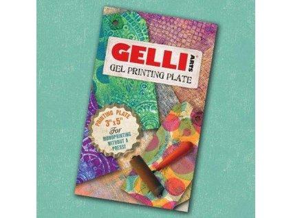 "Gelli Arts - 3x5"" / GEL PRINTING PLATE - gelová podložka"