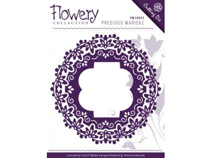 Precious Marieke -FLOWERY / FRAMES - vyřezávací a embos. šablona pro Big Shot