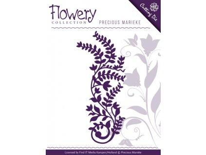 Precious Marieke - FLOWERY / BRANCH - vyřezávací a embos. šablona pro Big Shot