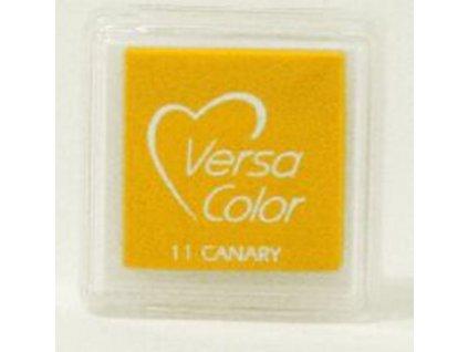 VersaColor - CANARY - žlutá pigmentová razítkovací barva