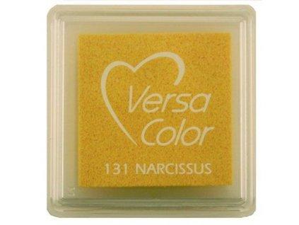 VersaColor - NARCISSUS - žlutá pigmentová razítkovací barva