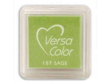 VersaColor - SAGE - zelená pigmentová razítkovací barva