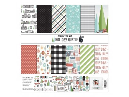 "Fancy Pants - HOLIDAY HUSTLE - 12"" kompletní scrapbooková sada"