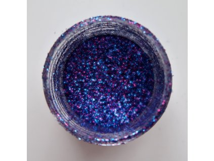 Colourcraft - GLITTER CRYSTALS / INDIGO BLUE - modro fialové glitry