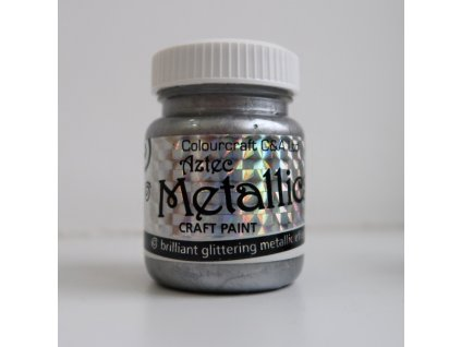 Colourcraft - METALLICS / SILVER - brilliant glittering effects - třpytící metalická barva