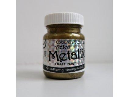 Colourcraft - METALLICS / ANTIQUE GOLD - brilliant glittering effects - třpytící metalická barva