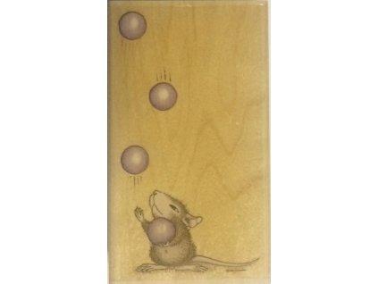 Stampabilities -  MUDPIE JUGGLES - gumové razítko pro scrapbook