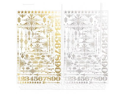 tim holtz paperie remnant rubs gilded accents th93287 1