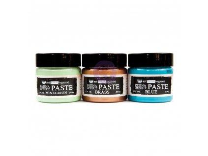 Prima Marketing - PATINA EFFECT PASTE - 3x barevná pasta