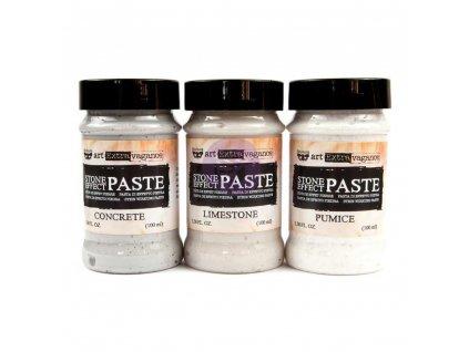 Prima Marketing - STONE EFFECT PASTE - 3x barevná pasta