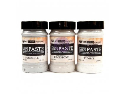 Prima Marketing - STONE EFFECT PASTE - 3x barevná pasta