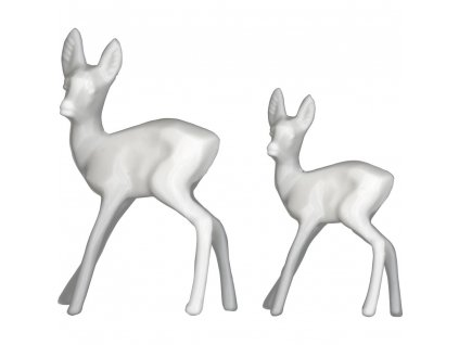 th93640 tim holtz idea ology resin decorative deer 12 pkg white .5 x1.25 .75 x1.5 [2] 83557 p