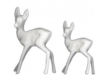 th93640 tim holtz idea ology resin decorative deer 12 pkg white .5 x1.25 .75 x1.5 [2] 83557 p