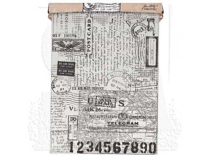 tim holtz th93181 tissue wrap postale