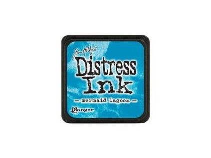 Ranger Distress Mini Ink Pad Mermaid Lagoon RITDP46790 image1 57158.1483155975.250.250