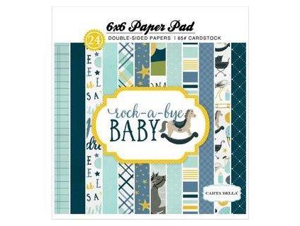 """Carta Bella - ROCK-A-BYE BABY / BOY - 6"""" sada papírů"""