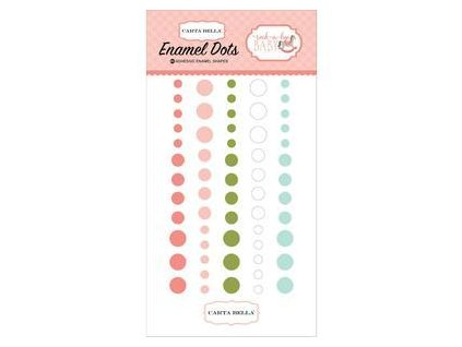 Carta Bella - ROCK-A-BYE BABY / GIRL - enamel dots