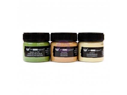 Prima Marketing - CAMOUFLAGE SET - 3x barevná pasta