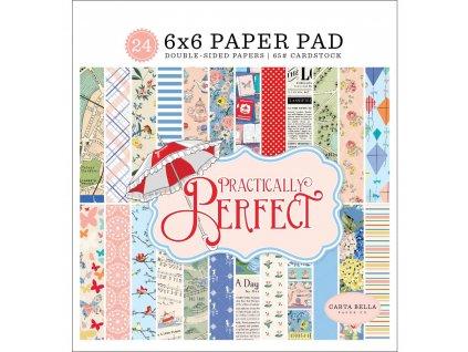 "Carta Bella - PRACTICALLY PERFECT - 6"" sada čtvrtek"