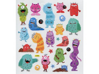 Tattooking - STICKERKING / MONSTERS - samolepky