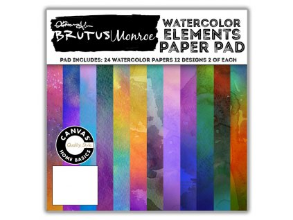 Water Color Elements Paper Pad 1400x