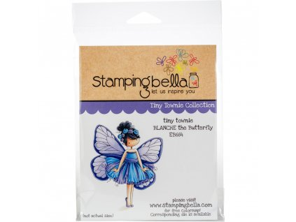 Stamping Bella - BLANCHE THE BUTTERFLY - cling gumové razítko