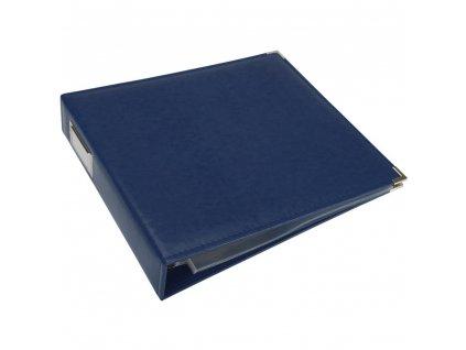 "We R - COBALT- 12"" koženkové scrapbookové album"