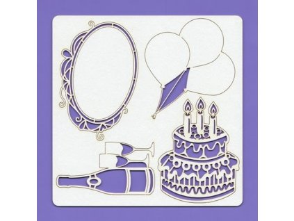 crafty moly izrezki iz lepenke baloni rojstni dan