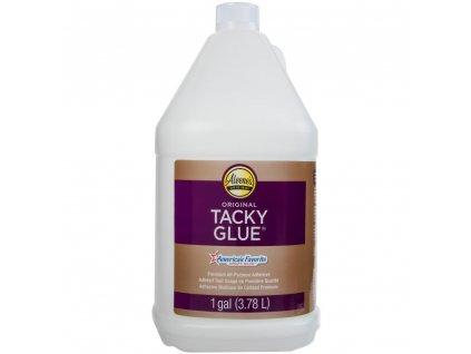 Aleene´s  - ORIGINAL TACKY GLUE  / 1 galon / 3,78 litrů - průhledné tekuté lepidlo