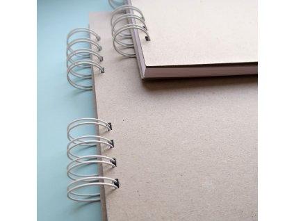 Hurá Papír - A5 / 21 x 14,8  cm -  album, deník, blok; bílé listy
